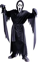 FUN WORLD EASTER UNLIMITED Scream Ghost Face Halloween Costume for Boys, Small, with Included Accessories
