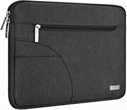 MOSISO Laptop Sleeve Only Compatible with MacBook 12 inch A1534 with Retina Display 2017/2016/2015 Release, Polyester Carrying Case Bag with Accessory Pocket, Black