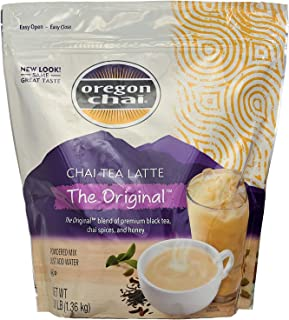 Oregon Original Chai, Dry Powder Mix - 3lb Bag (Case of 4)