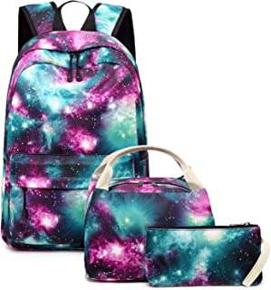 galaxy backpack and lunchbox