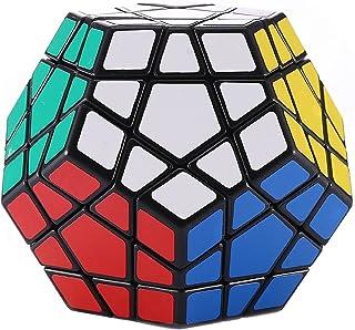 BakaKa Magic Cube Faltpuzzle W/ürfel Twisty Cubo Magico Professional Cube Klassisches Spielzeug 8 Paneele