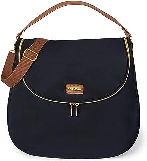 Bolsa Maternidade Skip Hop Curve Diaper Bag Satchel Preta, Skip Hop, Preta