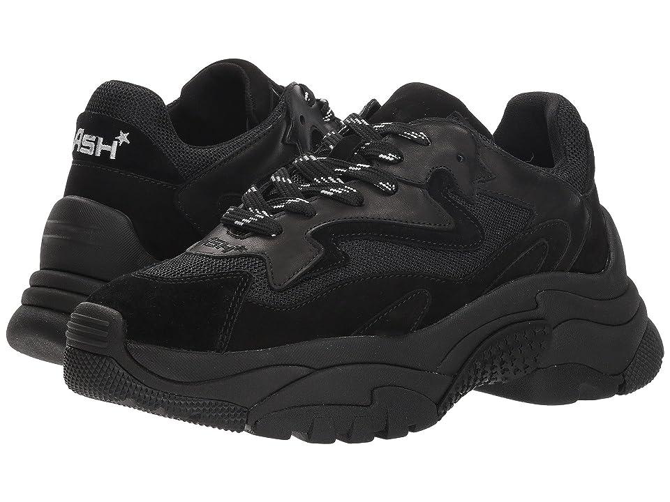 b4313f3e1111 ASH Addict (Black Black) Women s Lace up casual Shoes