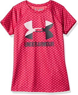 Girls' Novelty Big Logo Short Sleeve t-Shirt