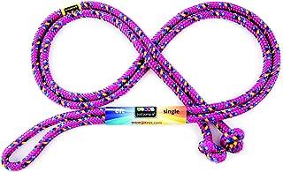 Just Jump It 8 Foot Single Jump Rope - Raspberry Confetti