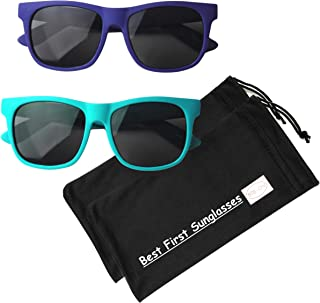 Vintage– Best First Sunglasses for Infant, Baby, Toddler,...
