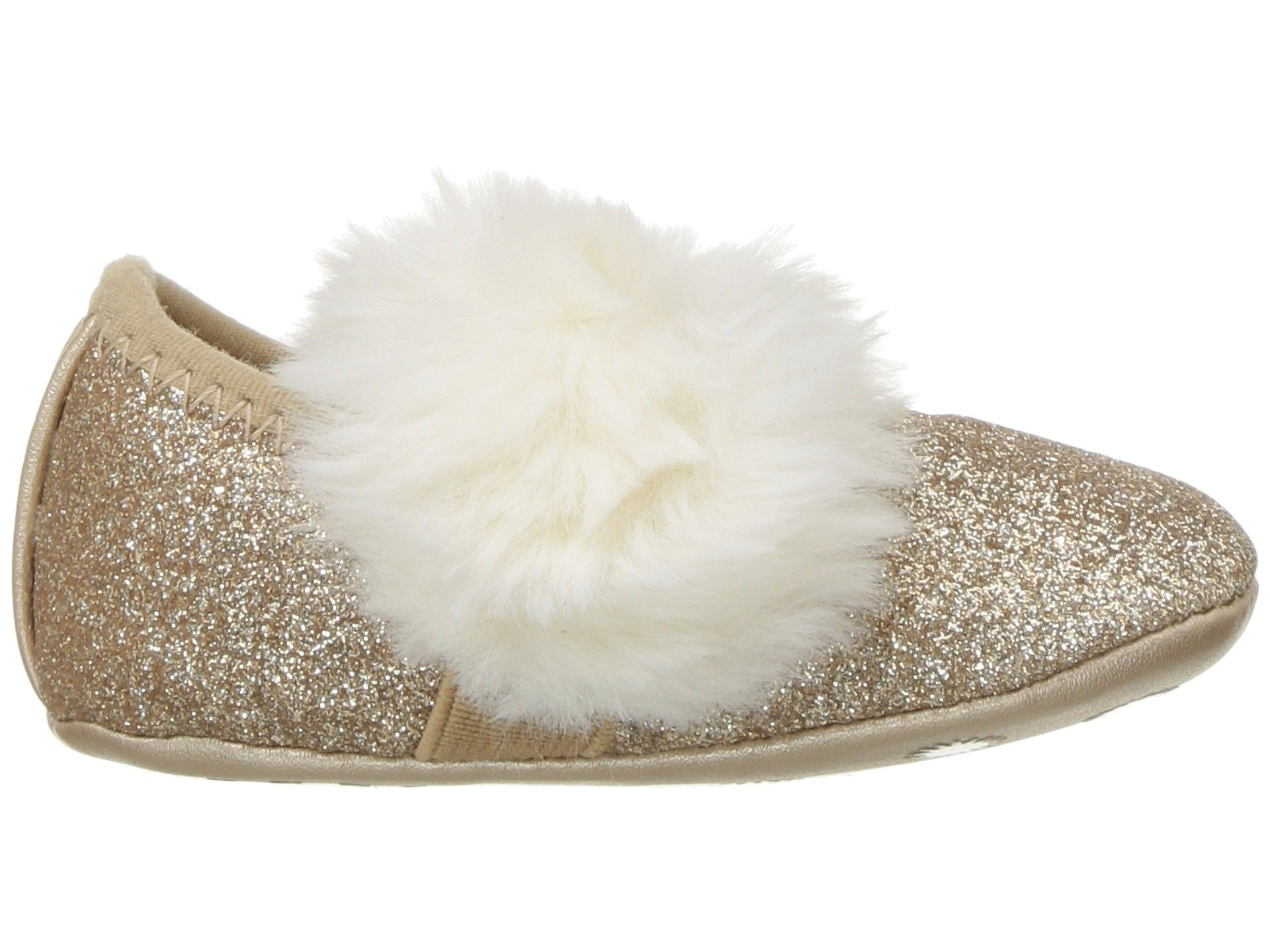 ugg kids fluff glitter ballet flat (infant/toddler)