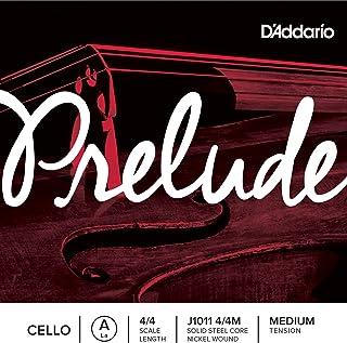 D`Addario Prelude Cello Single A String, 4/4 Scale, Medium Tension