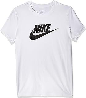 تي شيرت فوتورا للنساء من ملابس نايك الرياضية بشعار العلامة التجارية