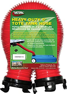 Valterra Red D04-0111 Heavy-Duty Tote Tank Hose-5'