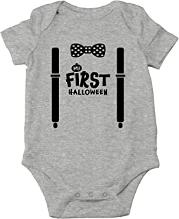 AW Fashions My First Halloween - Batty for Mommy and Daddy - Funny Halloween One-Piece Infant Baby Bodysuit