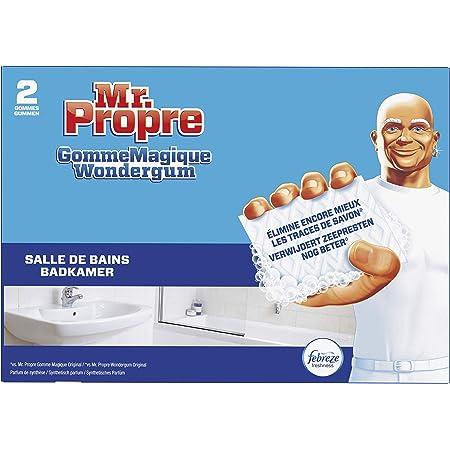 Mr Propre gomme Magique Ultra Power Éponge, Elimine Les Traces et Taches Tenaces, Lot de 2
