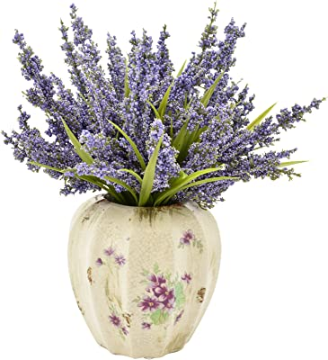 Creative Displays CDFL5248 Heather in Decorative Vase, Small