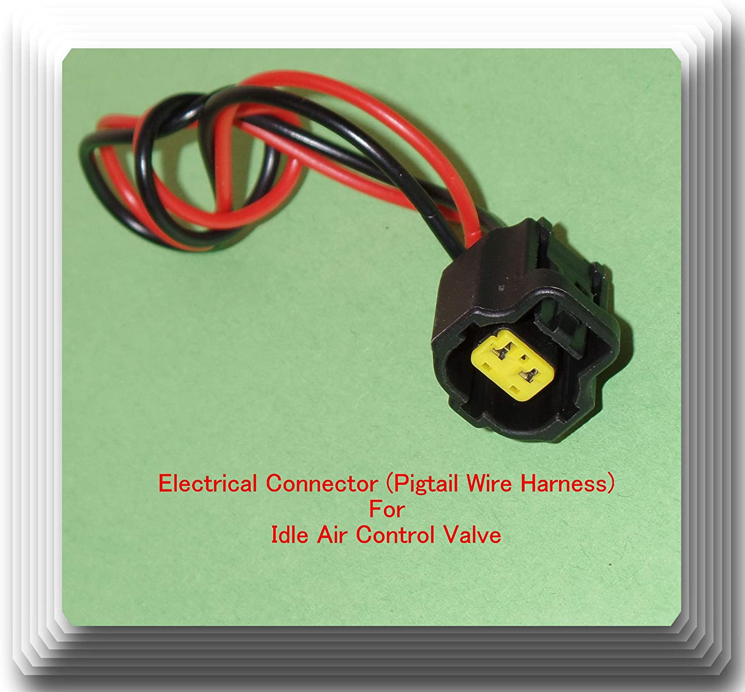 1F2220660A Electrical Connector free of Idle Control Fits: Air Valve Colorado Springs Mall