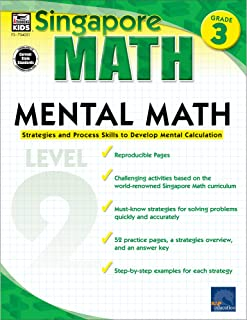 Mental Math, Grade 3: Strategies and Process Skills to Develop Mental Calculation