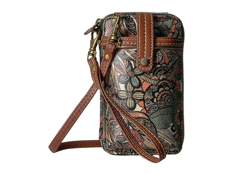 Sakroots Artist Circle Smartphone Wristlet (Sienna Spirit Desert) Wristlet Handbags