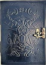Urban Leather Saton Journal d'Halloween – Livre noir des ombres et des sorts magiques – Bullet Journal Dessin Sketchbook S...