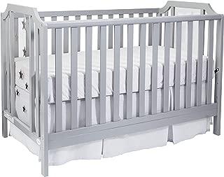 Suite Bebe Celeste 3 in 1 Island Crib Light Grey