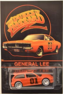 Hot Wheels Honda Civic EF Orange Custom-Made with Whitewall Real Rider Rubber Wheels Limited Edition General Lee The Dukes of Hazzard Series 1:64 Scale Collectible Die Cast Model Car.