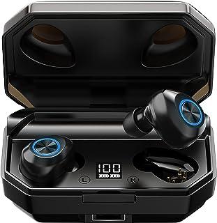 Auriculares Bluetooth 5.0 con Estuche de Carga de 2600 Mah para TeléFono/Auriculares, Zooaoxo Auriculares InaláMbricos Dep...