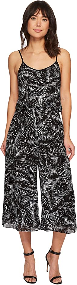 MICHAEL Michael Kors Abstract Palm Jumpsuit