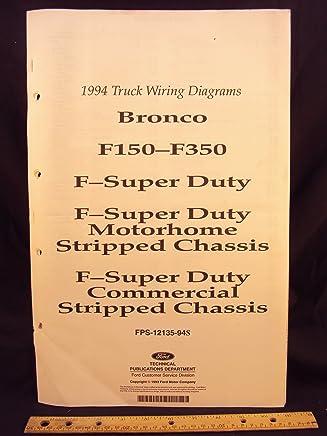 1994 ford f-150, f250, f350 series truck, bronco, f-