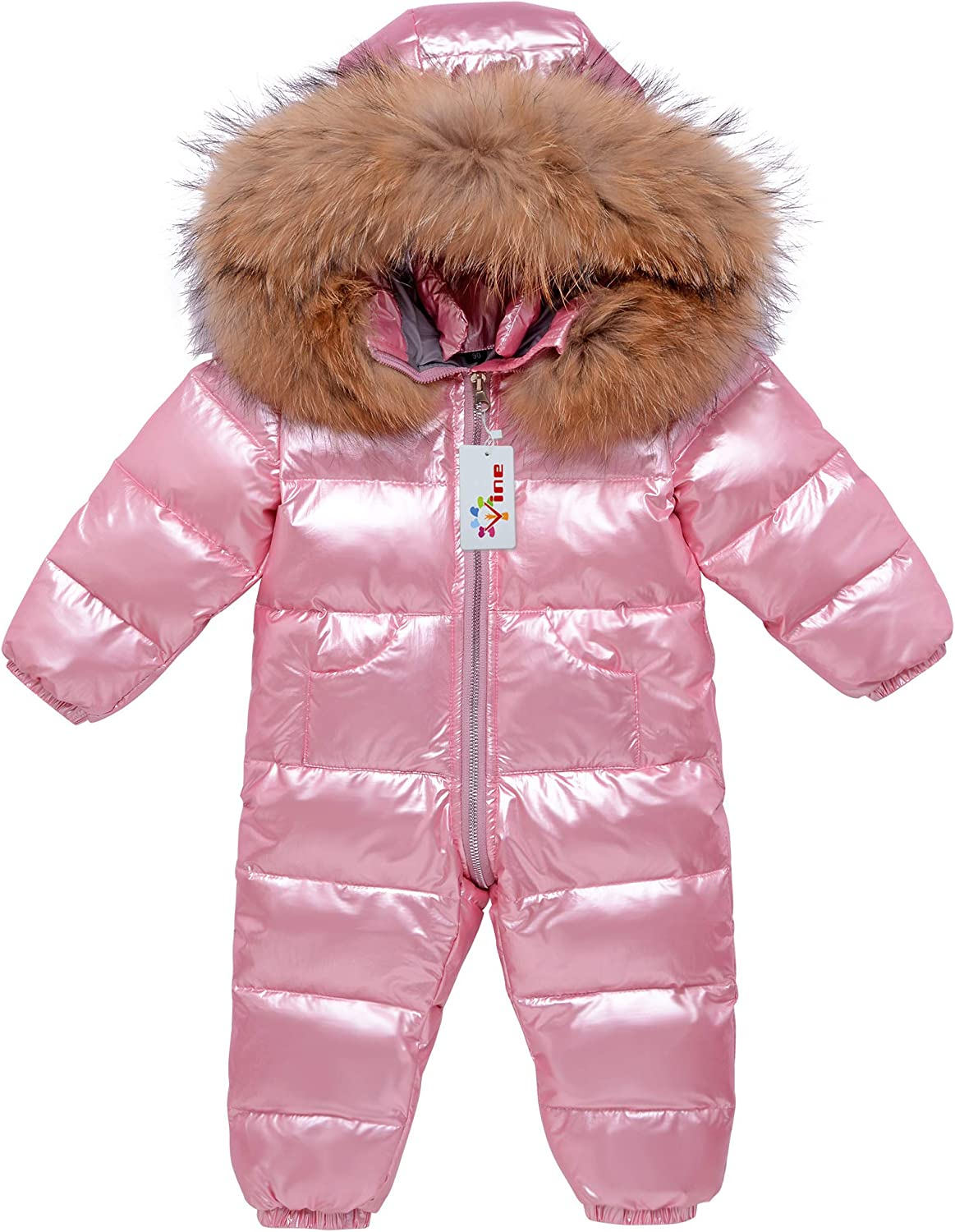 Baby Snowsuit Winter Hooded 35% OFF Romper Down Skisuit Outfits for Warm Opening large release sale
