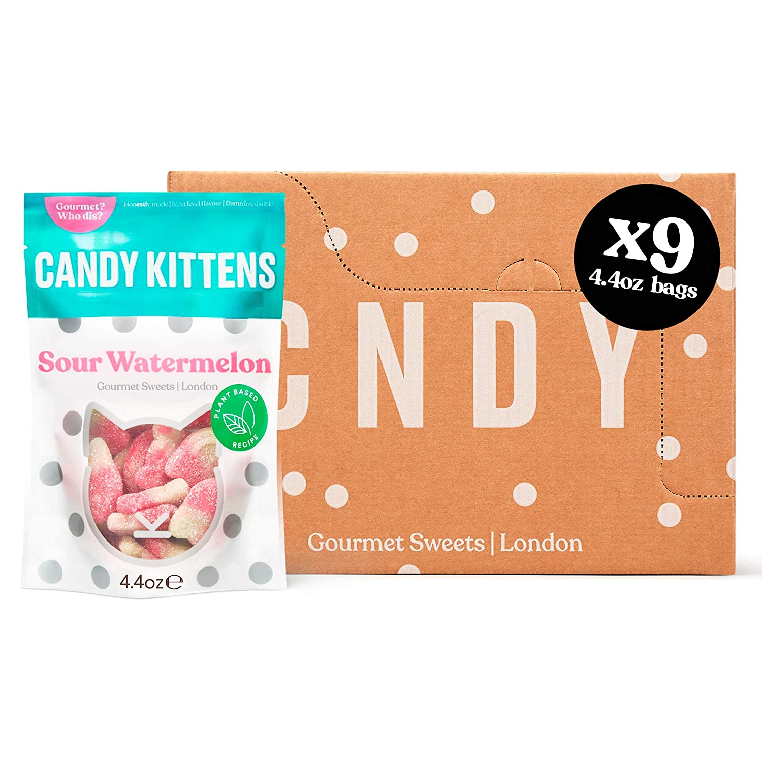 Candy Kittens Sour 2021 Watermelon Plant-Based Oil Free - Palm Max 80% OFF