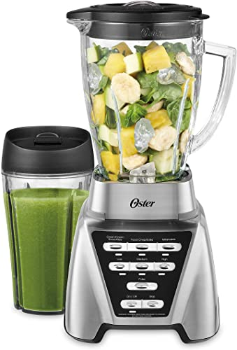 high quality Oster Blender   Pro 1200 lowest high quality with Glass Jar, 24-Ounce Smoothie Cup, Brushed Nickel sale
