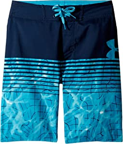Under Armour Kids - Variegated Logo Boardshorts (Big Kids)