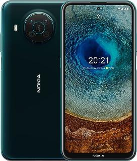 "Nokia X10 5G Android Smartphone, 6GB RAM, 128 GB ROM, 48 MP Quad Camera, 6.67"" Full HD+ display, 4470mAh long life battery..."