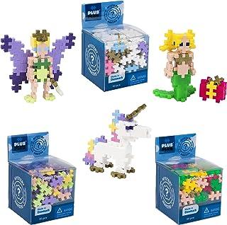PLUS PLUS – Set of 3 Mystery Makers – Series 1, Bundle 2 – Construction Building Stem Toy, Interlocking Mini Puzzle Blocks...