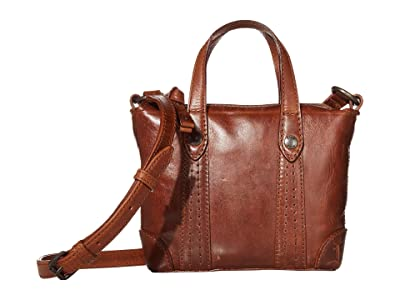 Frye Melissa Mini Crossbody Shopper (Cognac) Cross Body Handbags
