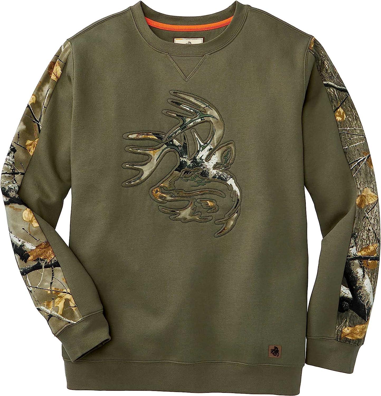 Legendary Whitetails Men's Outfitter Crew Fleece Sweatshirt
