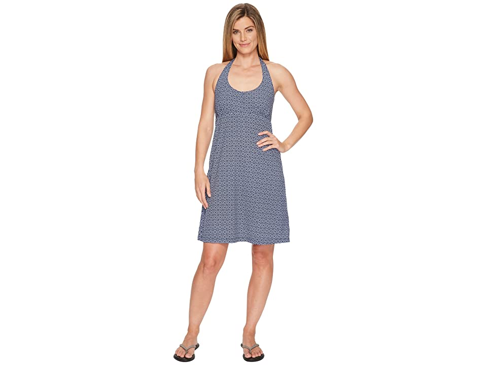 Columbia Armadaletm Halter Top Dress (Collegiate Navy Helmsalee Print) Women