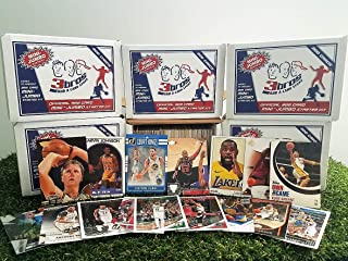 300 card MINI-JUMBO lot of Basketball cards Starter kit with Guaranteed Superstars - 1980's to present. Comes in Custom Souvenir box. Great Gift for 1st time collectors! OVER 1,900 SOLD by 3bros