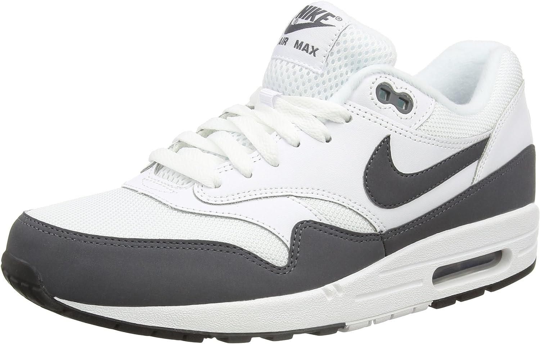 Amazon.com   Nike Men's Air Max 1 Essential Grey/White 537383-126 ...