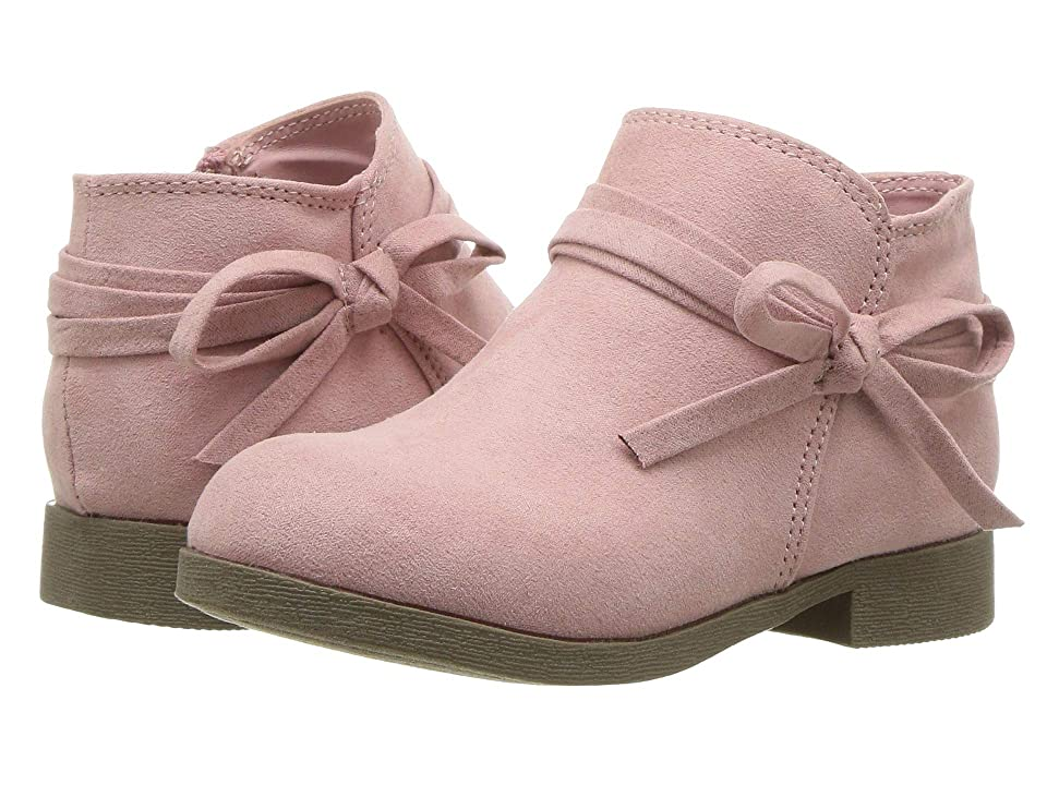Nine West Kids Cyndees (Toddler/Little Kid) (Dusty Rose Microfiber) Girls Shoes
