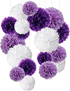 Tissue Paper Pom Poms Recosis Flower Ball For Birthday Party Wedding Baby Shower Bridal