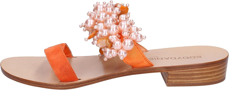 EDDY DANIELE Sandals Womens orange