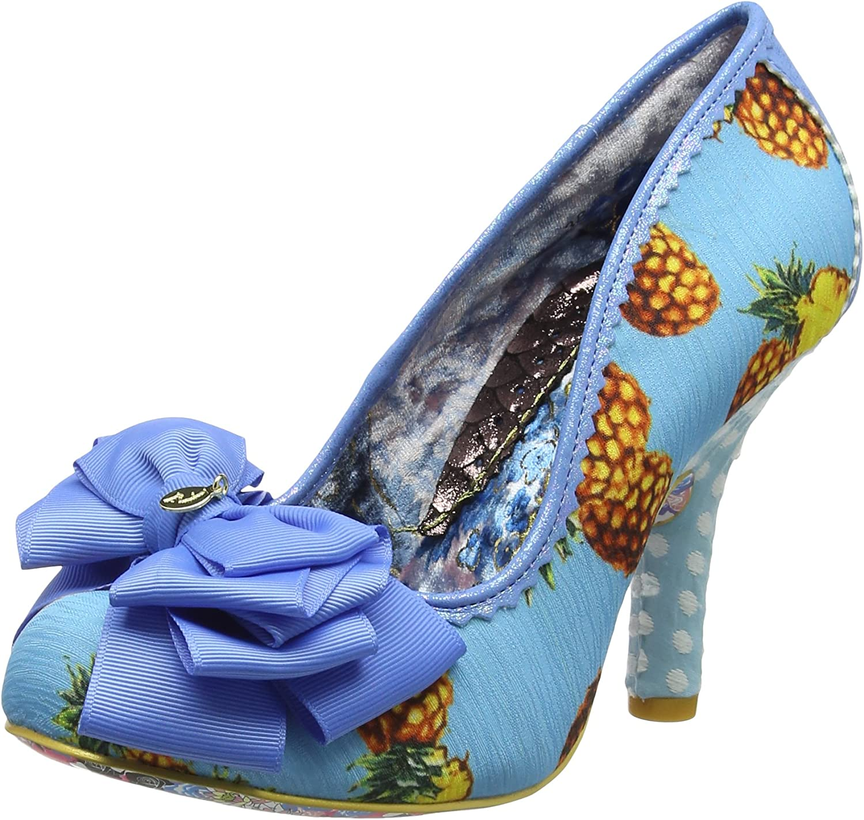 Irregular Choice Womens Ascot Pineapple Bow High Heel Court shoes Size