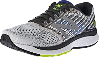 New Balance Men's 860 V9 Running Shoe, White/Blue