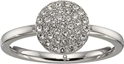 Pave Circle Ring