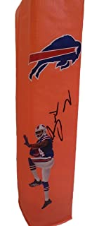 Buffalo Bills Sammy Watkins Autographed Hand Signed Full Size Photo Football Touchdown End Zone Pylon with Proof Photo of Signing and COA- Clemson University Tigers