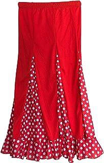 La Senorita La Señorita Flamenco Rock Kinder Spanische Kleider rot mit weißen Punkten