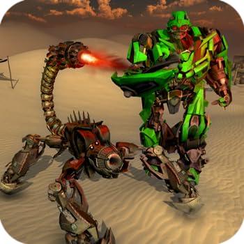 Scorpion Robot Transformation Game - Robot Shooting Games 2020