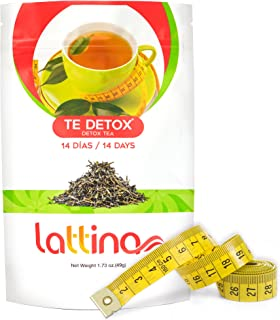 Detox Tea All Natural Weight Loss Tea | Cleanse and Detox Fat Burning Herbal Teatox | Premium Detox Cleanse and Appetite Suppressant | Lose Weight Fast for Women and Men | Boosts Metabolism