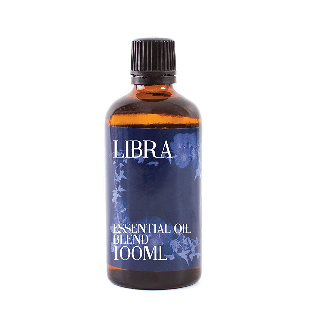 アコー作業不快Mystic Moments | Libra - Zodiac Sign Astrology Essential Oil Blend - 100ml