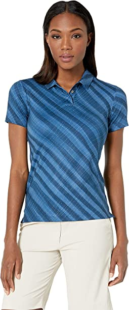 Dry Polo Short Sleeve Spring Print