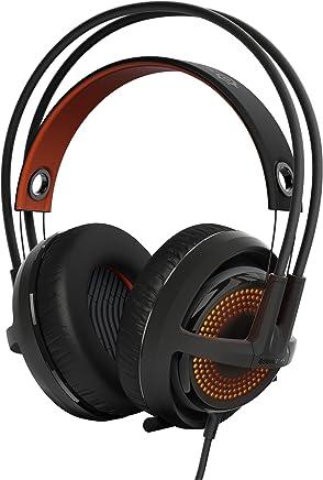 SteelSeries Siberia 350, cuffie da gioco, suono surround DTS 7.1, illuminazione RGB, PC / Mac / Playstation, Nero - Trova i prezzi più bassi